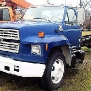 GENUINE FORD 1990 F-600 CAB & CHASSIS / 370-2V ENGINE