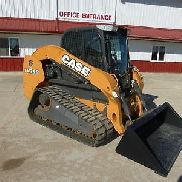 2012 CASE TV380 CAB SKID STEER LOADER FOR SALE 1939 HOURS SELECTABLE JOYSTICK