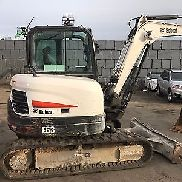 BOBCAT E63 HVAC 1,200 HOURS WORK READY BUCKET