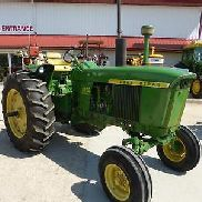 1972 JOHN DEERE 3020 DIESEL POWERSHIFT TRACTOR FOR SALE NEW REAR TIRES DUAL HYDR