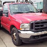 GENUINE FORD 2004 F350 XL SUPER DUTY STAKE TRUCK / POWER STROKE V8 - NEUE TRANS