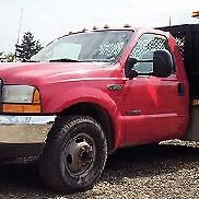 GENUINE FORD 2001 F350 XL SUPER DUTY PLOW TRUCK / POWER STROKE V8 / TOMMY GATE