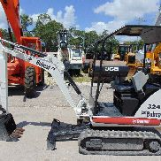2011 BOBCAT 324 MINI ESCAVATORE - LAMA - BATTERIA PIASTATA - ORE MINORI - 2 SPEED