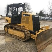 2012 Caterpillar D3K2 XL Crawler Dozer Tractor 6 Way Blade Cat D3 Bulldozer