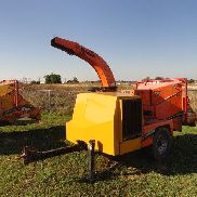 2008 VERMEER BC1000XL WOOD CHIPPER / BRUSH CUTTER FORESTRY ARBORIST new hood
