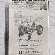 International Harvester B414 Tractor Large Advertisement from Australian Journal