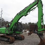 2010 Sennebogen 821R-HD C Materiale Handler w / rampino magnetico - ore basse!