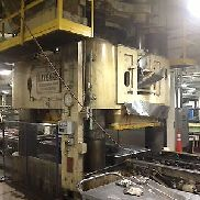 5,000 Ton Lake Erie Hydraulic Downacting Press With Rubber Forming Pad, S/N 1678