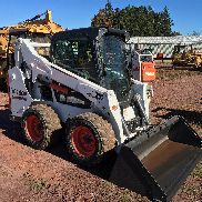 2015 BOBCAT S590 Gummireifenrad Radladers LOW HOURS CAB HEAT AIR