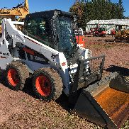 2015 BOBCAT S530 Gummireifenrad Radladers LOW HOURS CAB HEAT
