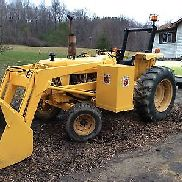 Ford 5610 TRACTOR with loader and tiger side mower and Bucket loader DIESEL