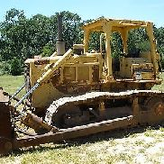 1990 CATERPILLAR D6D CRAWLER DOZER