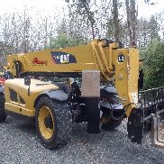 TELEHANDLER CAT TL1255 2012 cab a/c heat 12k cap 55ft reach foam fill tires
