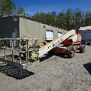 2008 Schnorchel TB60 Boom Lift 4x4 Articulating RUNS MINT! DEUTZ DIESEL 60 'TB-60