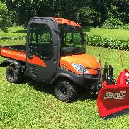 2011 Kubota RTV1100 4WD Utility Vehicle w/ Front Plow, 30 Hours!, 25HP Diesel