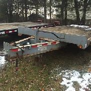 2005 tow Master 10 ton trailer with airbrakes