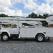 1995 FORD F800. BUCKET TRUCK LKW-