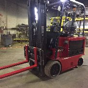 2012 Raymond 5000 LB  Electric Forklift With Side Shift And Fork Positioner