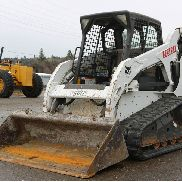 2011 BOBCAT T190 SKID STEER COMPACT TRACK LOADER OROPS AUX HYD 1900HRS TIER 4