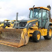2012 DEERE 310J LOADER BACKHOE 2700HRS 4X4 MP BUCKET E-STICK AUX HYDRAULICS CAB