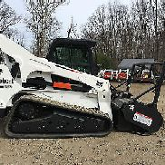 2013 Bobcat T870 with Bobcat Forestry Mulcher