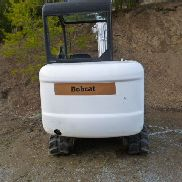 2003 Bobcat 334 with 2 buckets, thumb and trailer
