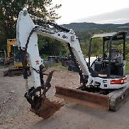 BOBCAT 430G EXCAVATOR LOW HOURS HYDRAULIC THUMB READY 2 TO WORK IN PA! WE SHIP!