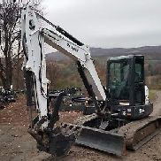 2015 BOBCAT E55 EXCAVATOR FULLY LOADED READY 2 WORK IN PA! WE SHIP NATIONWIDE!