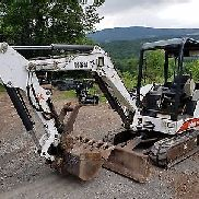 BOBCAT 331 EXCAVATOR ONLY 2109 HOURS HYDRAULIC THUMB READY 2 WORK IN PA WE SHIP!