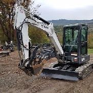 2016 BOBCAT E35 EXCAVATOR CAB A/C ANGLE BLADE THUMB EXCEPTIONAL AND READY 2 WORK