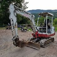 TAKEUCHI TB125 EXCAVATOR LOW HOURS READY 2 WORK IN PA! WE SHIP NATIONWIDE!