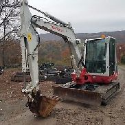 2012 TAKEUCHI TB250 EXCAVATOR CAB HEAT A/C READY TO WORK IN PA! WE SHIP!