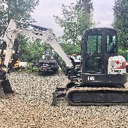 2014 Bobcat E45 mini escavatore