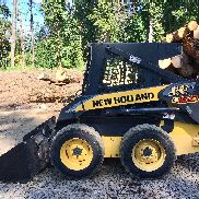 New Holland L150 Kompaktlader