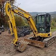 KOMATSU PC35 EXCAVATOR CAB HEAT A/C ROAD LINER TRACKS READY TO WORK IN PA!