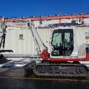 2010 Takeuchi TB175 Excavator - Enclosed Cab - Rubber Tracks