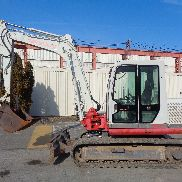 2009 Takeuchi TB175 Excavator - Enclosed Cab - Rubber Tracks