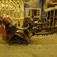 2012 Toro TRX-20 Walk Behind Trencher - ONLY 426 Hours - Rubber Tracks