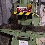 USED Kalamazoo Metal Muncher GB-70 Ton Hydraulic Punch Press die set Xtra Motor