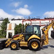 2010 Caterpillar 420EIT Loader Backhoe - 4x4 - Enclosed Cab - Extendahoe