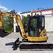 2012 Caterpillar 305ECR Mini Excavator Backhoe Loader - Enclosed Cab - Low Hours