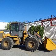 2010 John Deere 544K Wheel Loader - Enclosed Cab - 4x4 - Diesel