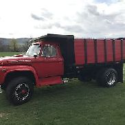 1969 Ford F-850 Superduty, Dump Bed, alle original, Gas