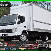 2007 Mitsubishi Fuso Fe140 Tilt Cab Over Box Truck 16ft 4.9L Diesel Automatic