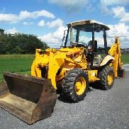 1998 JCB 210S Tractor Loader Backhoe, 4x4, 3rd Valve, Runs & Looks Good