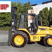 JCB 940 8,000lbs 4x4 Rough Terrain Forklift - Triple Mast - Side Shift - Diesel