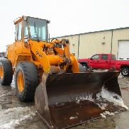 1990 John Deere 544E Wheel Loader, Cab, 7829 Hours