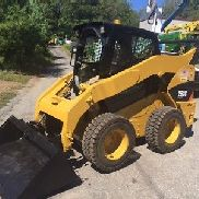2012 CATERPILLAR 262C SKIDSTEER LOADER 85 HP TURBO 3650 HRS 3RD VALVE A/C