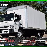 2012 Mitsubishi Fe160 Tilt Cab Over 16ft Box Truck 3.0L Diesel Automatic Used