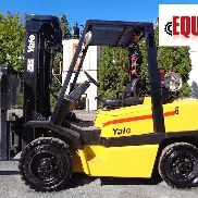 Yale GLP080 8,000lbs Forklift - Triple Mast - Side Shift - Propane